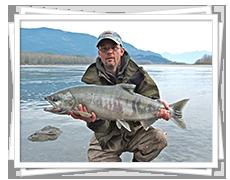 Chum Salmon Fishing in BC