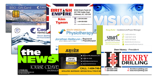 Fraser Valley Business Cards
