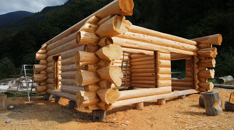Log Home Details – News
