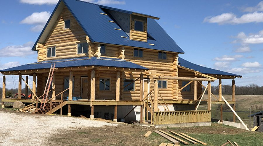 Missouri Log Home Project – News