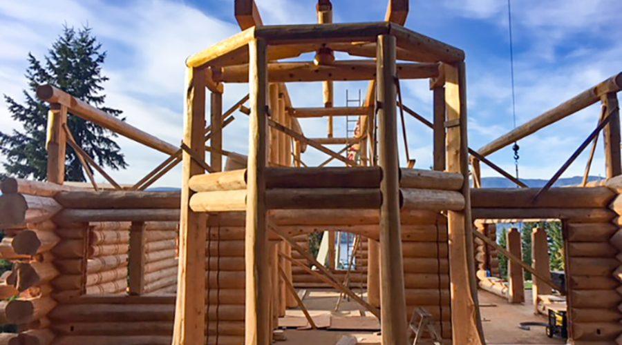 Why Build A Log Home? – News