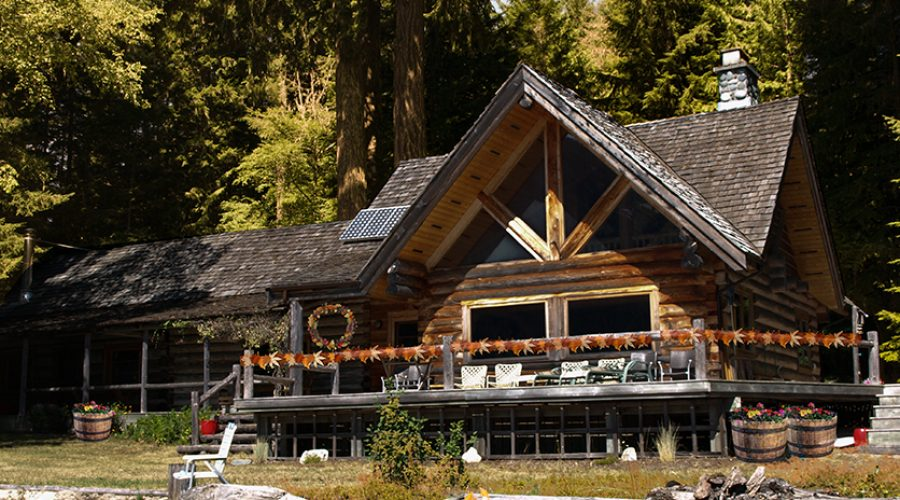 Rustic log home ready for Fall – News