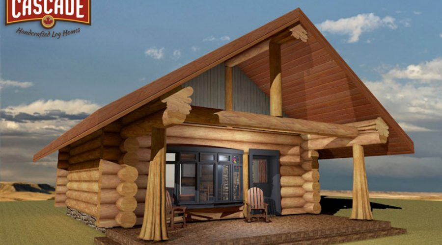 Log Cabins Under 600 Square Feet
