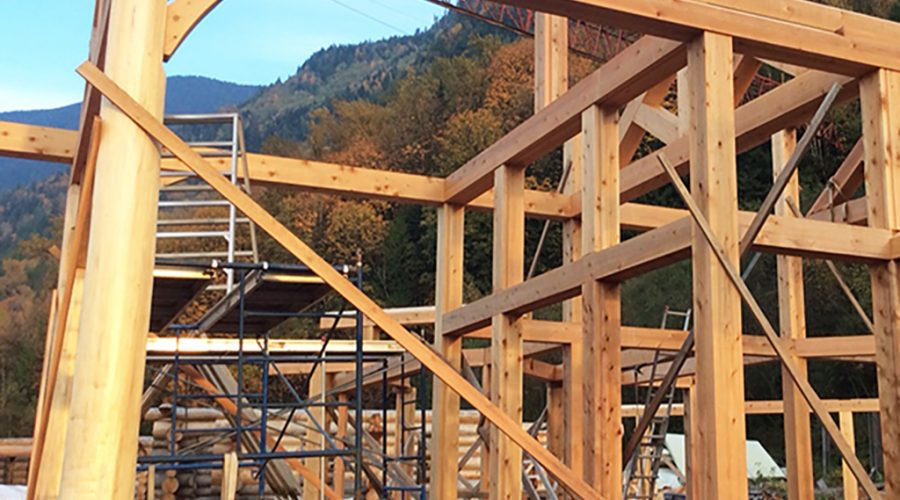 Building a Timber Frame Home