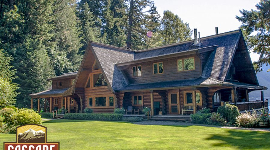 Inside The Lake House – Featured Log Home
